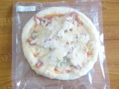 ピザ・アリオ「ディープ生地」①タンドリーチキンの野菜