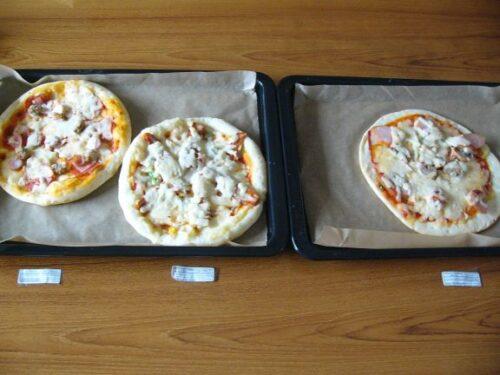 通販冷凍ピザの基本的な焼き方