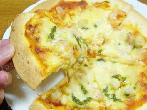 ピザ・アリオ「クリスピー生地」②ガーリックシーフード