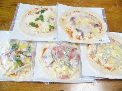 冷凍ピザ通販チンクエ・ピッツァ5枚セットの口コミ