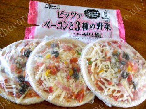 ベーコンと3種の野菜ナポリ風 (7インチ)の口コミ