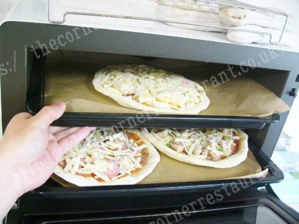 冷凍ピザ通販「ピザ・シティーズ」を調理