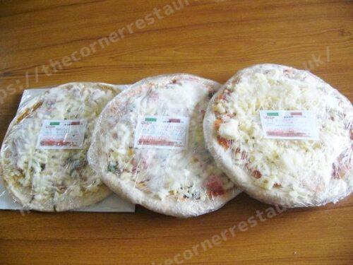 冷凍ピザ通販「ピザハウスロッソ」到着