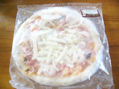 ズワイ蟹と海老のアメリカンオーロラソースピッツァ